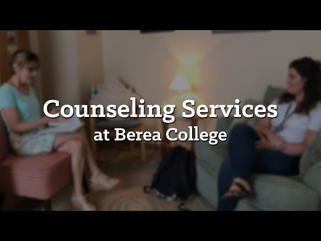 Counseling Services at Berea College