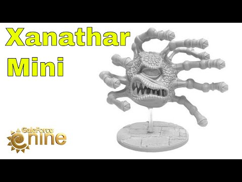 Preparing The Xanathar Beholder Miniature (Gale Force 9) & Chat
