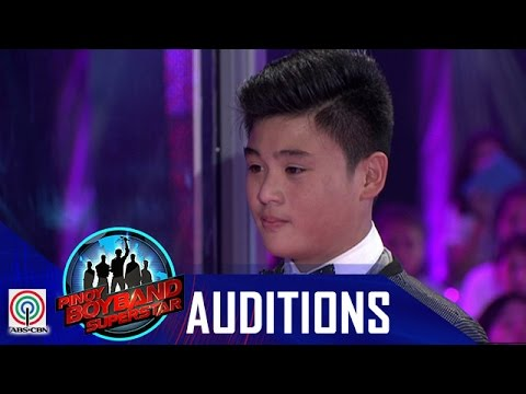 """Pinoy Boyband Superstar Judges' Auditions: Cyrill Tumamak- """"Lay Me Down"""""""