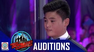 "Pinoy Boyband Superstar Judges' Auditions: Cyrill Tumamak- ""Lay Me Down"""