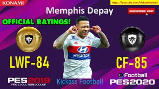 PES 2020 15 New GOLD TO BLACK BALL OFFICIAL RATINGS 🔥🔥 MOBILE & PC
