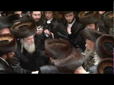 the big wedding of apta and seret viznitz