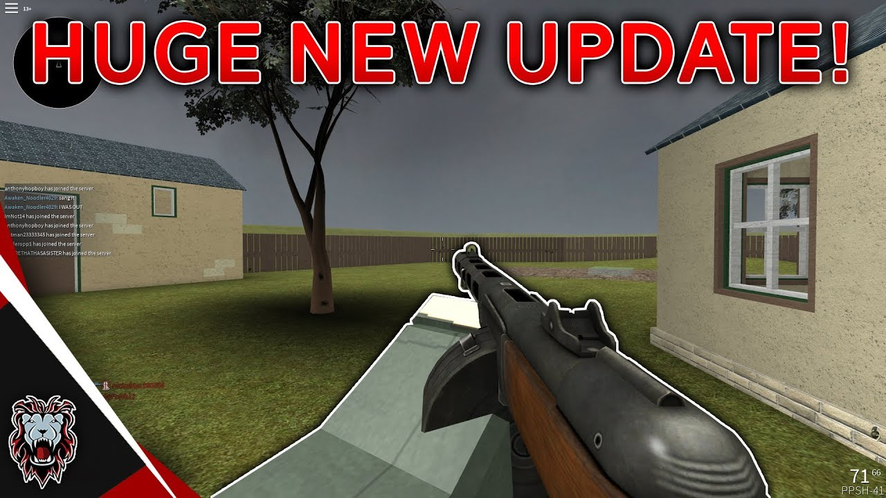 Roblox Wwii Huge New Updates Ppsh Added New Map Youtube