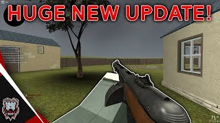 ROBLOX WWII - HUGE NEW Updates! | PPSH Added + NEW Map!
