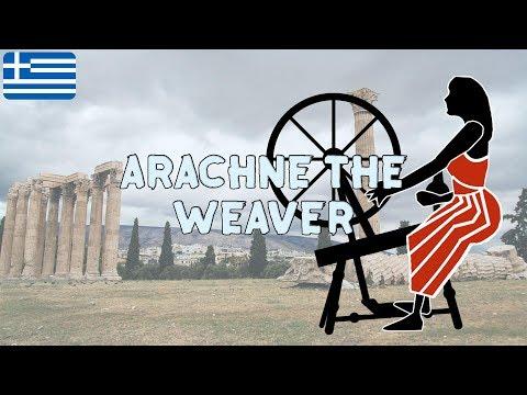 Arachne The Weaver | Exploring Greek Mythology