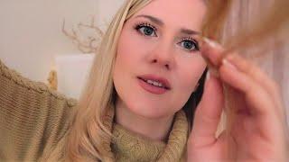 Sleep-Inducing Hair Steaming ○ ASMR ○ Shampoo ○ Behind Ears Whispers ○ Fire Crackling