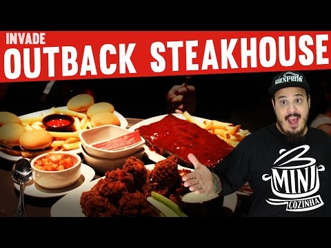 Billabong Hour no Outback Steakhouse  | MiniCozinha Invade |