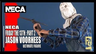 NECA Friday the 13th Part 2 Ultimate Jason Voorhees | Video Review #HORROR
