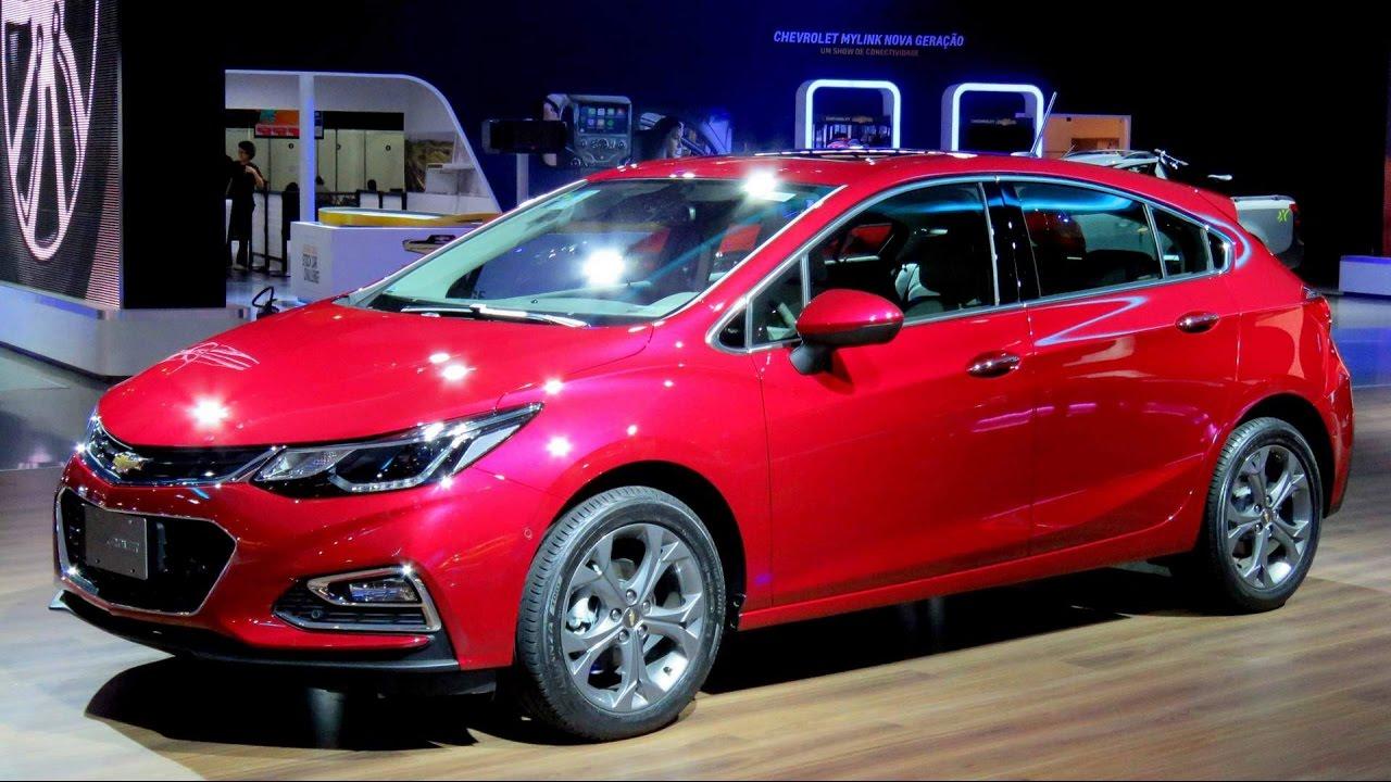 Novo Chevrolet Cruze Hatch 2017 - detalhes externos e ...