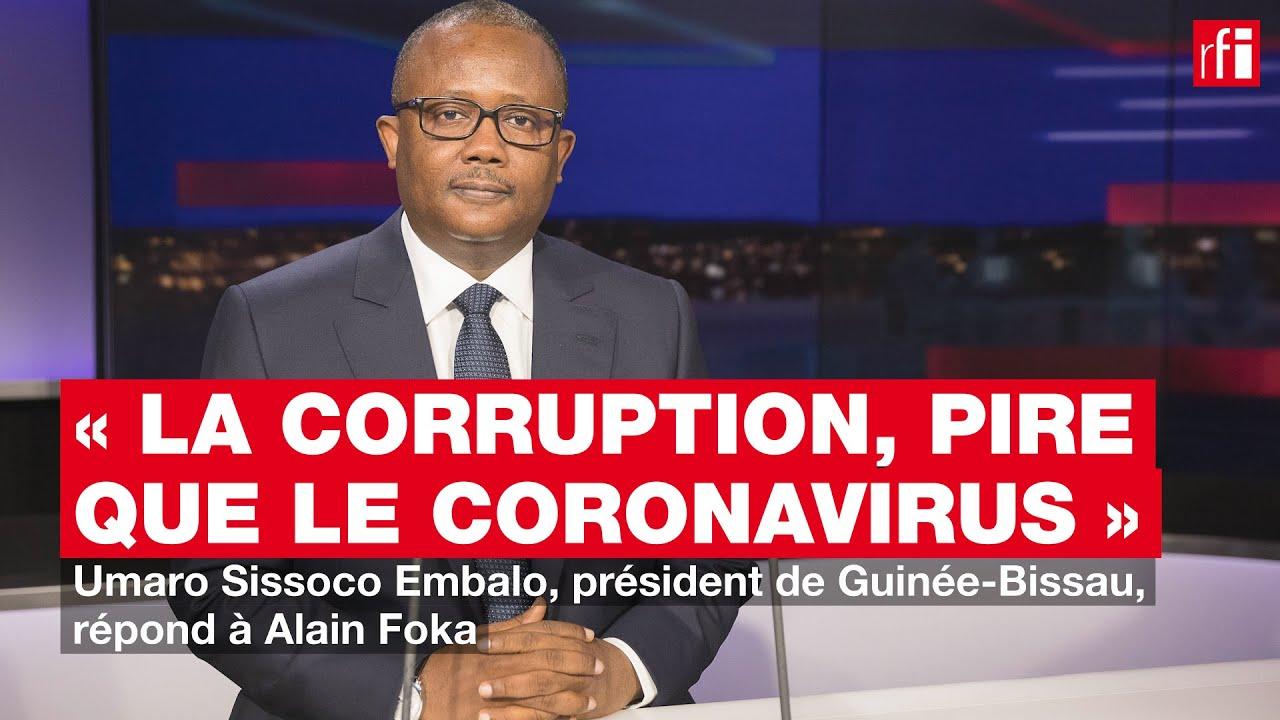 U. Sissoco Embalo, président de Guinée-Bissau: «La corruption, pire que le coronavirus»
