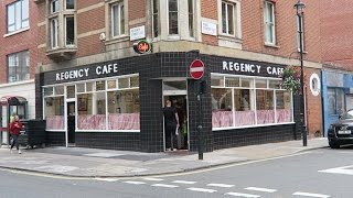 Regency Cafe Full English Breakfast at London's Best Greasy Spoon