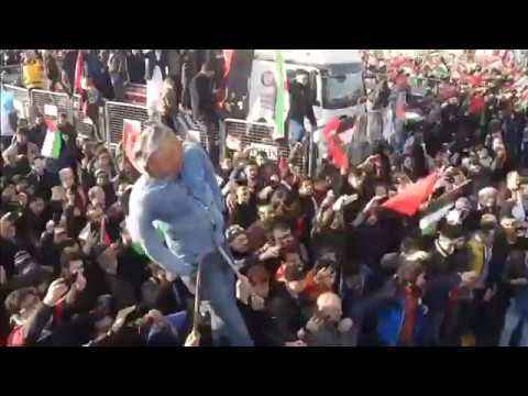 Thousands of Turks protest against U.S and Israel over Jerusalem