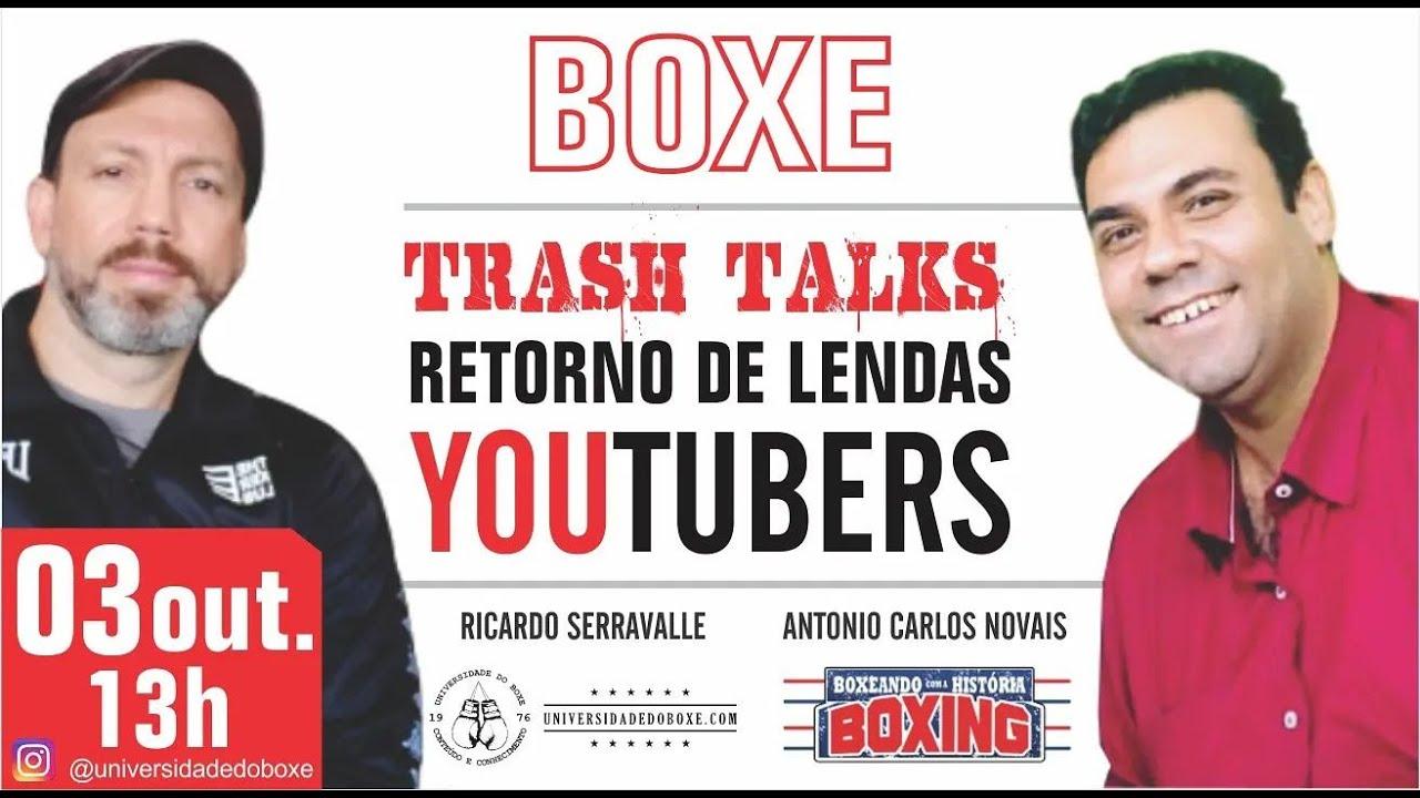 Boxe: trash talks, youtubers e retorno de lendas.