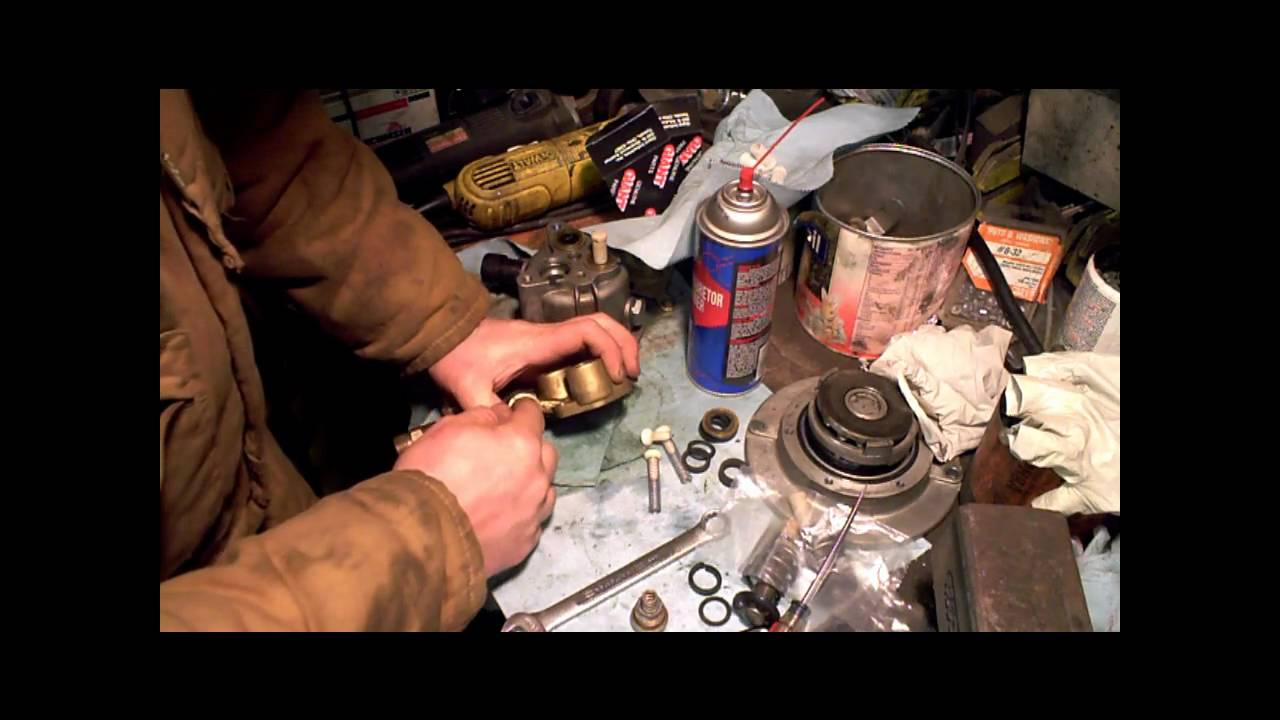 Giant Pressure Washer Pump Rebuild Part 2 Of 3 Campbell
