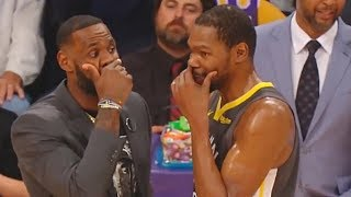 LeBron James Tries To Get Kevin Durant To Join Lakers & Leave Warriors (Parody)