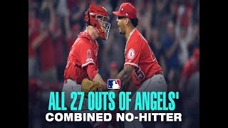 Amazing. Angels throw combined no-hitter while honoring Tyler Skaggs