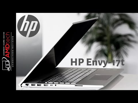 HP Envy - 17t Unboxing & Review: Go Big and Stay Home!