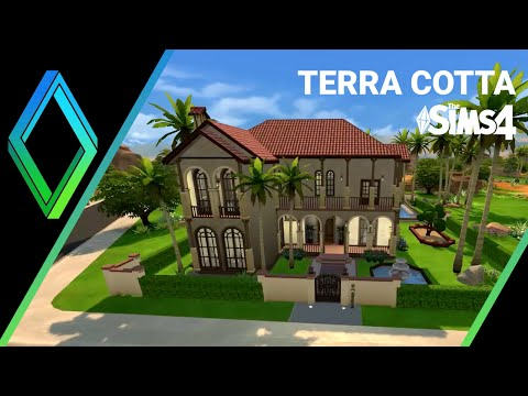 The Sims 4 House Building -  Terra Cotta