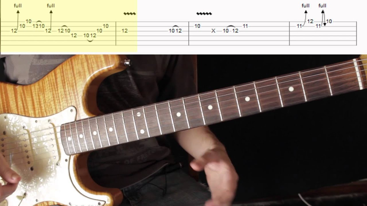 Como Tocar El Solo 2 Sultans Of Swing Dire Straits Tutorial Al Estilo Mark Knopfler Youtube