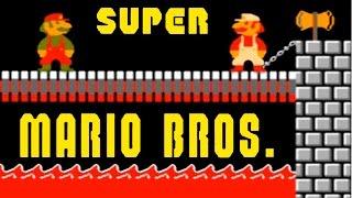 Super Mario Bros walkthrough / Супер Марио Брос прохождение (NES, Famicom, Dendy)