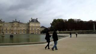 パリ リュクサンブール公園
