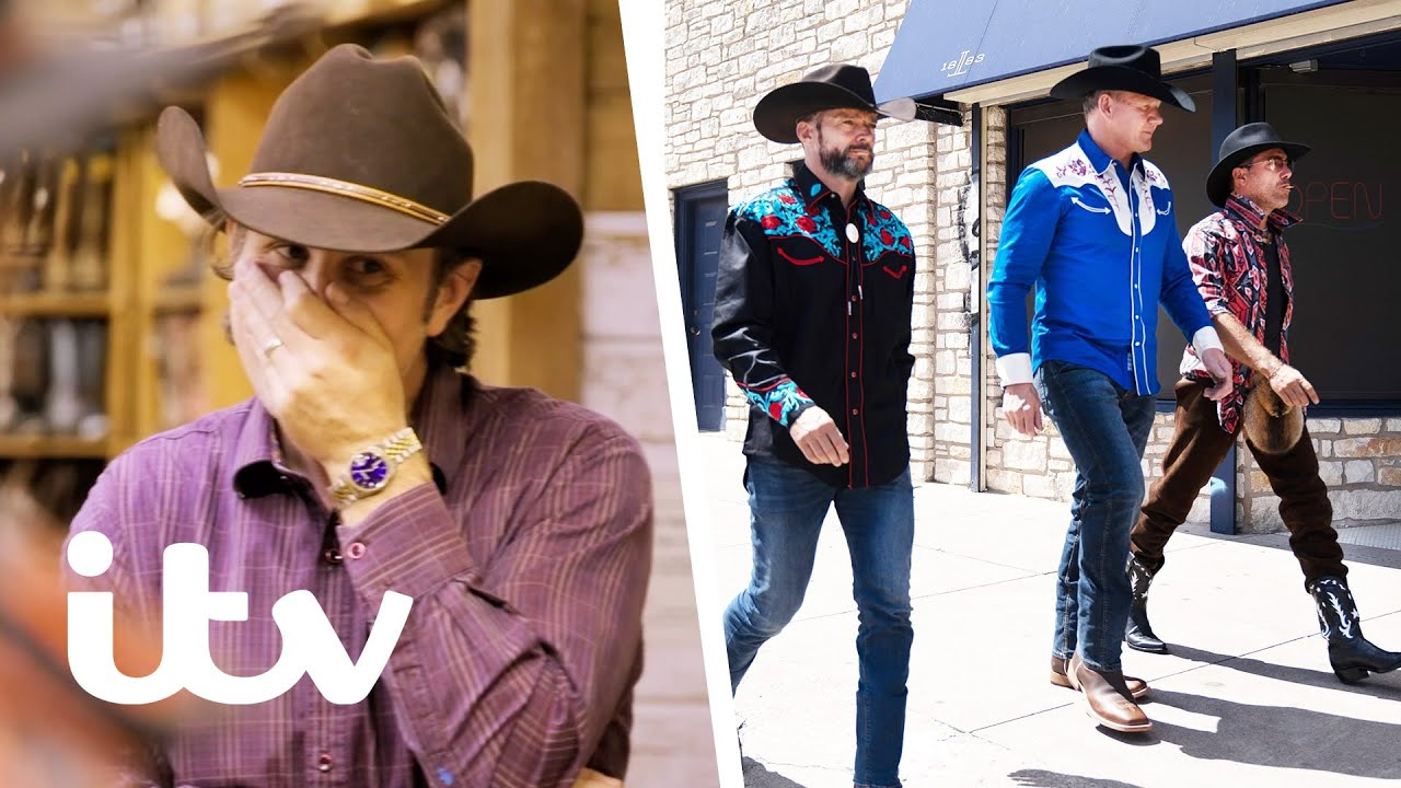 Download Gordon, Gino & Fred Go Shopping For Cowboy Outfits | Gordon, Gino & Fred: American Road Trip | ITV