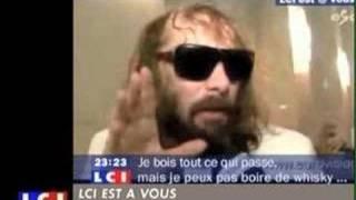 Sebastien Tellier Eurovision interview