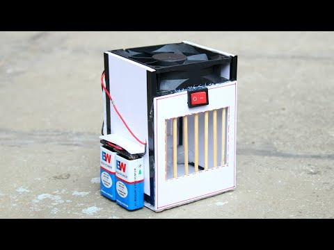 How to make Powerful Air cooler - [ DIY Tutorial ]