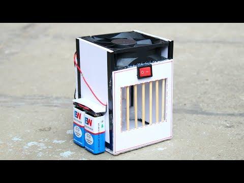 How to make Powerful Air cooler - [ DIY Tutorial ]