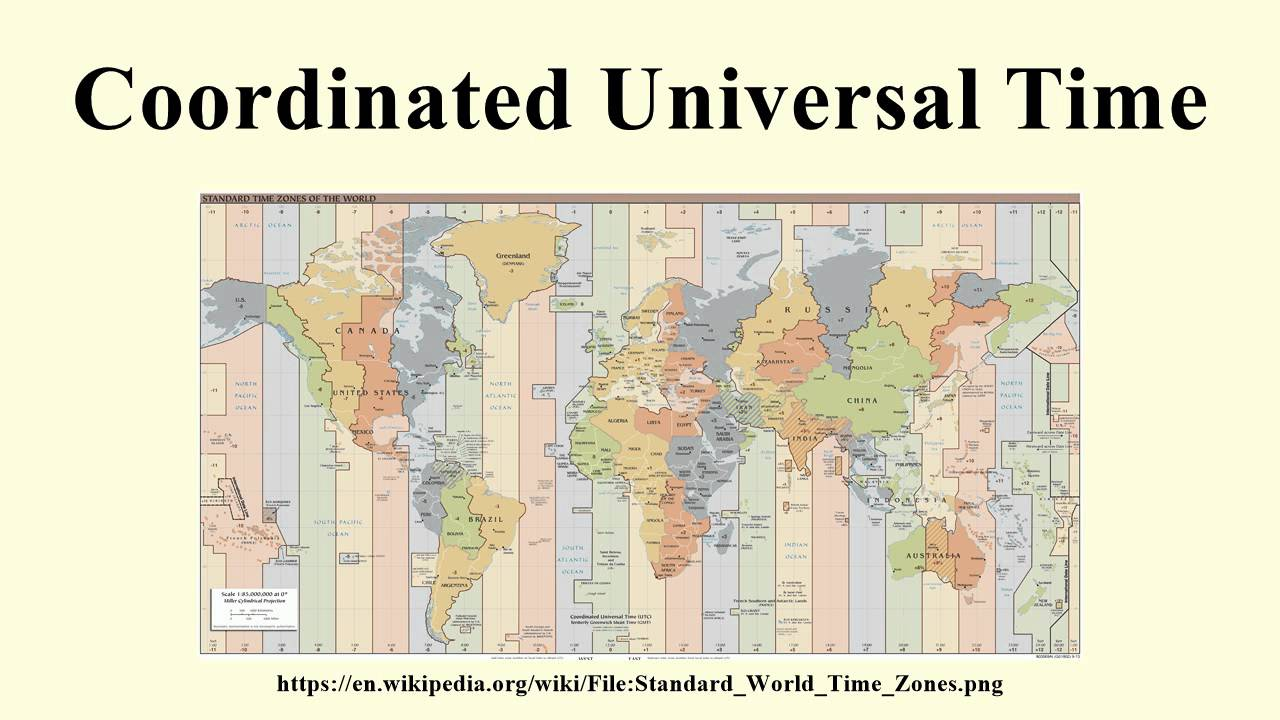 Universal Standard Time