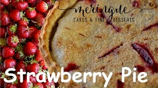 Baked Strawberry Pie Recipe