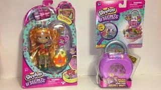 Shopkins Lil' Secrets Tia Tigerlily Shoppies Doll Pretty Petals Locket Playset Toy Review