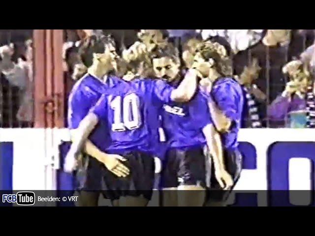 1991-1992 - UEFA-Cup - 02. 16de Finale - Club Brugge - Omonia Nicosia 2-0