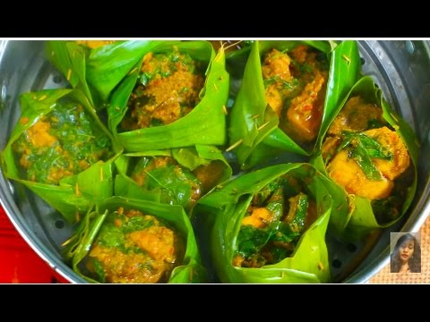 Cambodian Popular Food, How To Make Amok Trey, Cambodian Family Food Part 2