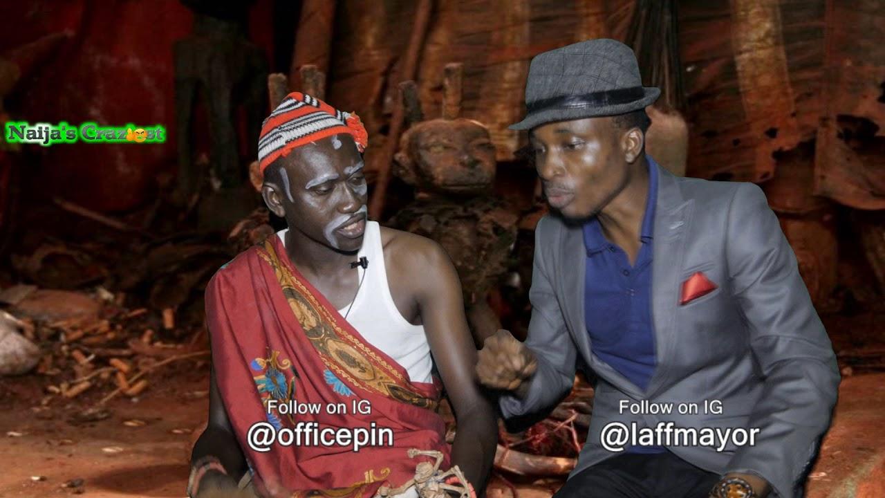 Download Nnamdi Kanus Whereabout Ezenmo Consults Amadioha. (Hilarious)