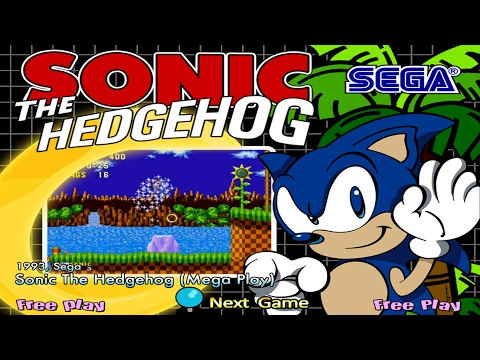 Sega Mame Arcade Games Hyperspin Arcade Youtube