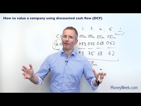 How to value a company using discounted cash flow (DCF) - MoneyWeek Investment Tutorials thumbnail