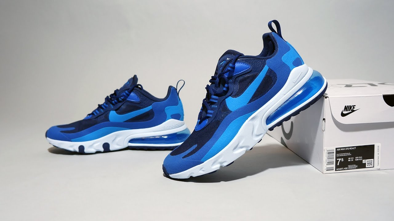 nike air max 270 blue void