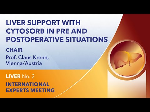 Liver support with CytoSorb in pre and postoperative situations | Fullversion | Liver Webinar No. 2