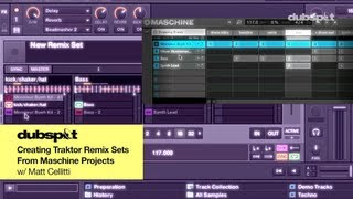 DJ / Producer Tutorial: How to Use Traktor Pro 2.5 Remix Decks w/ Maschine Projects