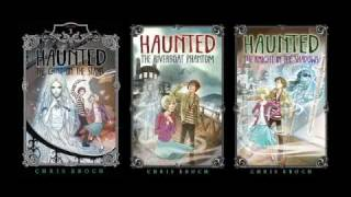 Haunted by Chris Eboch book trailer