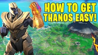 HOW TO GET THANOS IN FORTNITE SEASON 8! EASIEST WAY TO BE THANOS! (FORTNITE ENDGAME LTM)
