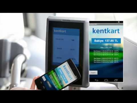 Kentkart NFC Mobil ödeme Sistemi Tanıtım Videosu