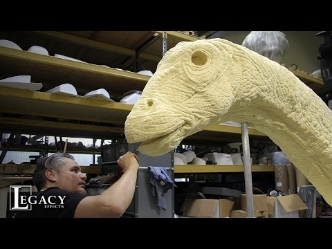 JURASSIC WORLD: Building the Apatosaurus - Legacy Effects