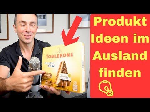 Hol dir deine Produktidee für Amazon FBA im Ausland und sei der erste Anbieter in Deutschland!