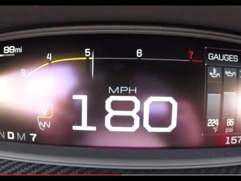 0-180 MPH 2018 Ford GT Acceleration