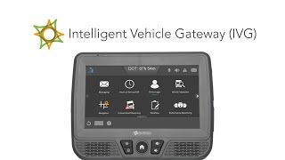 Learn how omnitracs' intelligent vehicle gateway (ivg) can help your fleet gain access to the next generation of efficiency, productivity, compliance, ...