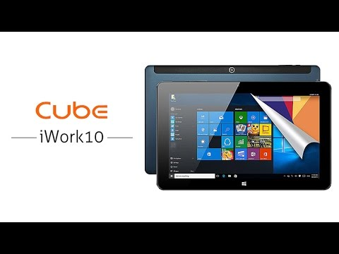 """CUBE iWork10 Ultimate 10.1"""" 1920 x 1200 Win10 Android 5.1 Dual OS Z8300 4GB 64GB Tablet PC"""