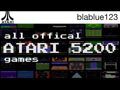 All Official ATARI 5200 Games