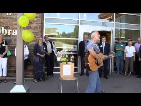 Salt Spring Island New Public Library opening